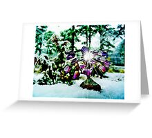 The Gem  Tree /  In Snow   Greeting Card