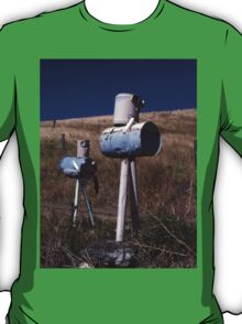 """""""War Of The Worlds"""" ? Letterboxes, Queensland T-Shirt"""