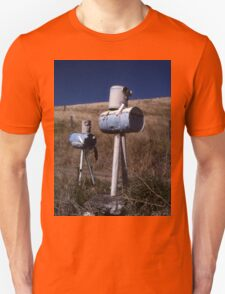 """""""War Of The Worlds"""" ? Letterboxes, Queensland Unisex T-Shirt"""