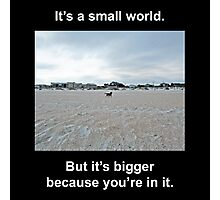 Small World Photographic Print