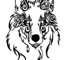 Beautiful Alpha Tribal Wolf by beautyhowl