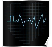 Whovian Heartbeat Poster