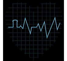 Whovian Heartbeat Photographic Print