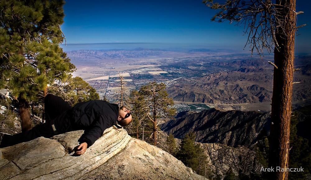Up high by Arek Rainczuk