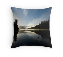 mirror lake. Throw Pillow