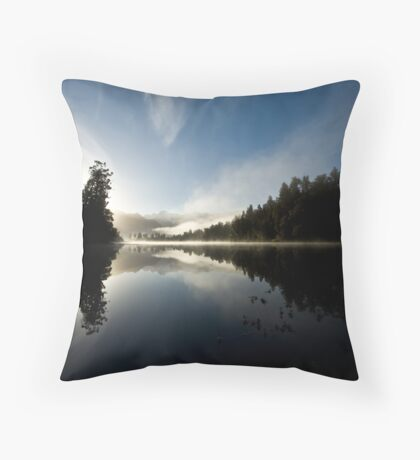mirror lake. Throw Pillow