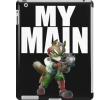 Fox Main - Super Smash Bros Wii U iPad Case/Skin