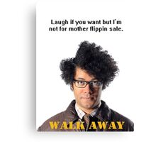 Maurice Moss The IT Crowd Canvas Print