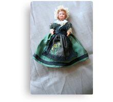 Irish doll Canvas Print