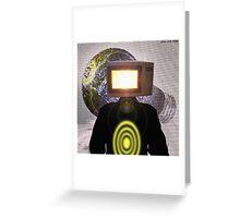Planet Magnetron (çΩç) Born Of Microwaving Greeting Card