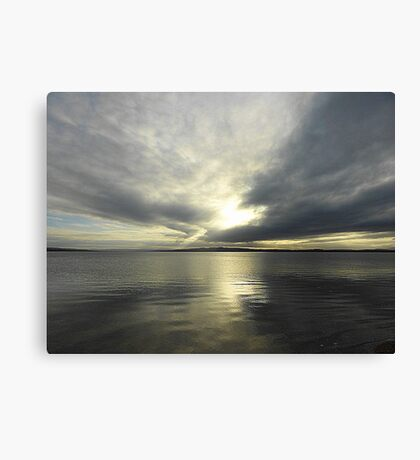 Where Water And Sky Meet................Ireland Canvas Print