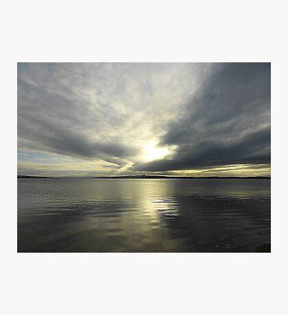 Where Water And Sky Meet................Ireland Photographic Print