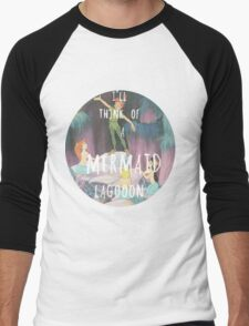 Mermaid Lagoon Men's Baseball ¾ T-Shirt
