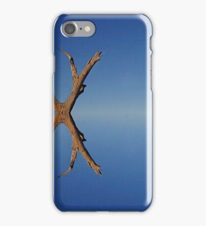 Lake Bonney reflections iPhone Case/Skin