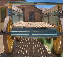 Bullock Dray, Monte Cristo, Junee, NSW, Australia by Adrian Paul