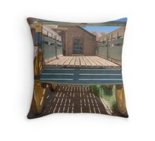 Bullock Dray, Monte Cristo, Junee, NSW, Australia Throw Pillow
