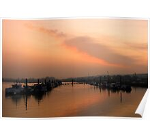 Medway Sunset 2 Poster