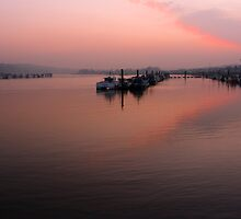 Medway Sunset 3 by Paul Davey