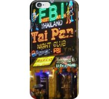 Downtown Patong iPhone Case/Skin