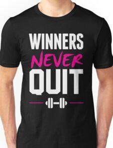 WINNERS NEVER QUIT Unisex T-Shirt