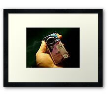 Pakistani Space Camera Framed Print