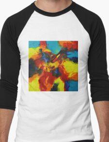 """""""Audacity No.3"""" original artwork by Laura Tozer Men's Baseball ¾ T-Shirt"""