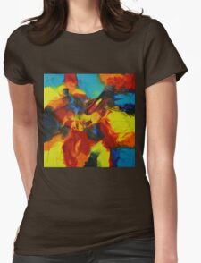 """Audacity No.3"" original artwork by Laura Tozer Womens Fitted T-Shirt"