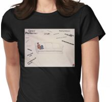 Overwhelmed--Stop, Enough Already Womens Fitted T-Shirt