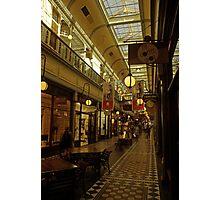 Adelaide Arcade. Photographic Print