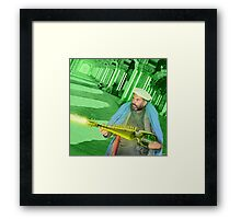 Pathan Electrodynamic Sitar Power Framed Print