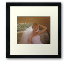 NIKKI (Post Production) Framed Print