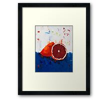 Blood of an Orange Framed Print