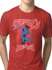 Devilman Old School Tri-blend T-Shirt