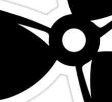 Boat propeller Sticker