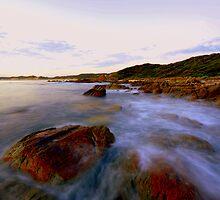 """ West Cape  Cape Conran Vic "" by helmutk"