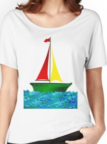 Sailboat Women's Relaxed Fit T-Shirt