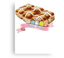 Hot Cross Buns Easter Canvas Print