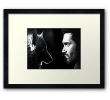 Derek Hale Framed Print