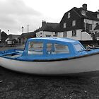 Emsworth Blue Boat by Zoe Harmer