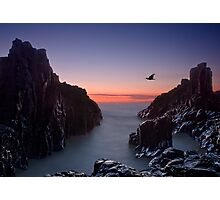 Early Morning at Bombo Rocks Photographic Print
