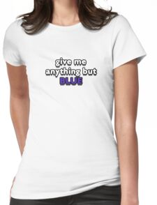 Blue - Marina & the Diamonds (FROOT) Womens Fitted T-Shirt