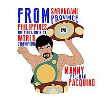Manny Pacquiao - Ring Announcement Photographic Print