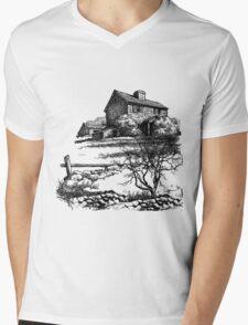 Country Life Mens V-Neck T-Shirt