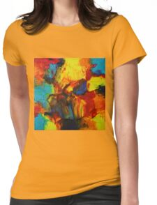 """Audacity No.2"" original artwork by Laura Tozer Womens Fitted T-Shirt"