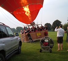 Virgin Balloon Flight #14 by rootesy