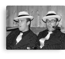 Gangsters Canvas Print