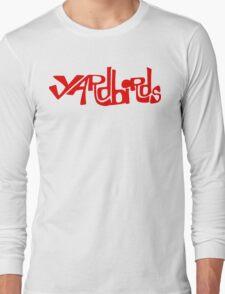 Yardbirds Eric Clapton Jimmy Page Jeff Beck Funny Geek Nerd Long Sleeve T-Shirt