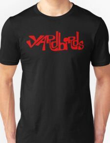 Yardbirds Eric Clapton Jimmy Page Jeff Beck Funny Geek Nerd Unisex T-Shirt