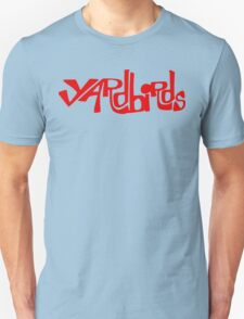 Yardbirds Eric Clapton Jimmy Page Jeff Beck Funny Geek Nerd Unisex T-Shirt