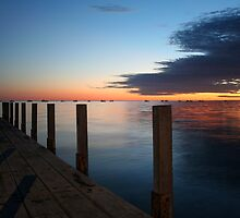 """Denham Jetty"" Shark Bay, Western Australia by wildimagenation"